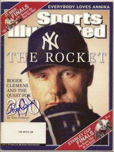 Roger Clemens Signed Sports Illustrated