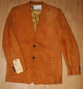 Elvis Sy Devore Suede Jacket