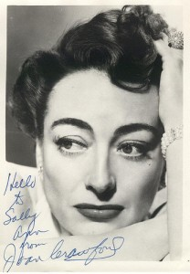 Joan Crawford Signed Photo