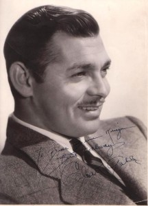 Clark Gable Autograph