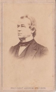 Andrew Johnson CDV