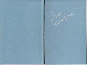 Edmund Goulding Signed Book