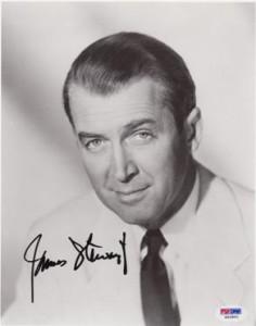 James Jimmy Stewart Autographed Psa Dna Coa 8 X 10 Trish Hessey Autographs