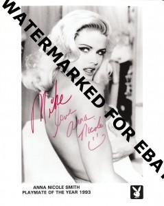 Anna Nicole Smith Autograph