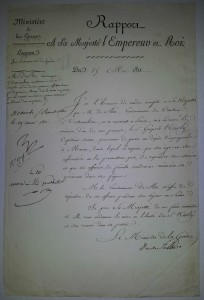 NAPOLEON BONAPARTE SIGNED DOCUMENT